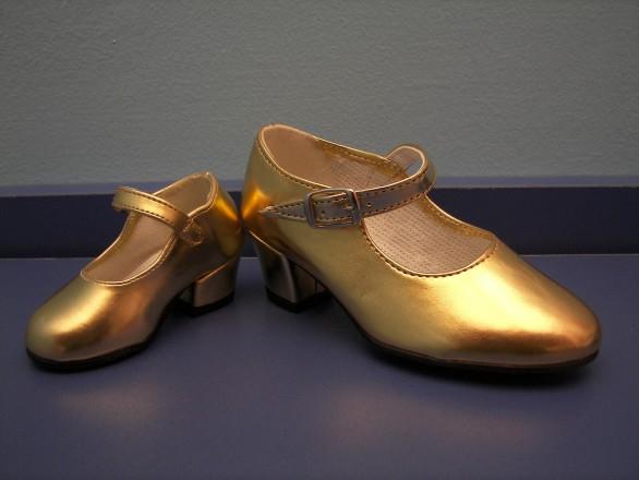 zap flamenca dorado